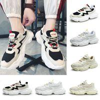 Free Shipping Mens Running Shoes nero freddo bianco Moda Creepers papà donne degli uomini di alta qualità corsa Sport Trainer Sneakers 39-44