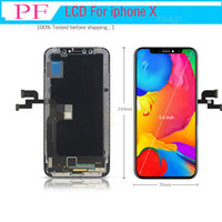 Grade A+++ LCD TFT Touch Display For iphone X 3D LCD Touch Screen Digitizer Full Assembly Black LCD Replacement Screen for iphone 10