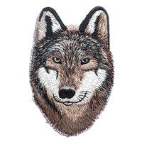 2018 Новая Мода Новое Прибытие 10 Шт Животное Волк Патчи Для Одежды Diy Полосы Parches Железа На Одежду Наклейки Пользовательские Значки