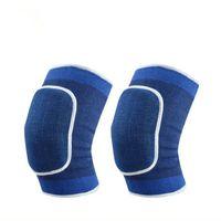 Joelheiras Skate Snowboard Sports Elastic Wrist Knee Protector Pads Leg Warmer para adulto Vôlei Sports Basketball Knee Bandage