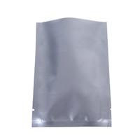 """Schneller Versand 7x10cm (2.75x4"""" ) Aufreißkerbe Hitze Silber Aluminiumfolie Mylar-Paket oben offenen Verpackungsbeutel Dichtungs"""