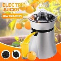 전기 과즙 스테인레스 스틸 감귤류 오렌지 과일 레몬 착취 주스 갈퀴 주스 압착기 과일 음주 기계 220-240V