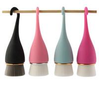 MAANGE viso Pennello pulizia Superfine morbida fibra poro profondo pulizia Spazzole disegno del gancio Maniglia lavaggio del viso Brush RRA2562