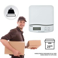25KG / 1G Küche Digitalwaage Tischplatte Paket Brief-Porto Wiegen Elektronische Waagen LCD mit Hintergrundbeleuchtung