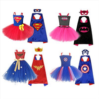 Halloween girls'dresses مع تنورة بومكون وفساتين قناع الرأس