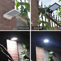 Neueste 450lm 36 led solarstraßenlaterne pir motion sensor lampen garten sicherheit lampe outdoor street wasserdichte wandleuchten
