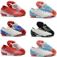 Nike Mercurial Superfly VII Elite Victory zapatos de fútbol New Lights FG Youth Junior Boys Botines de fútbol Botas Plyknit 360 chuteiras de futebol
