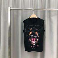 T-shirt in cotone da uomo collo manica corta moda estate stampa bulldog uomo camicie magliette stile top slim