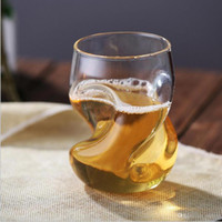 Beer Mug Cup Shot Whisky Cup Creativo 220ML Bicchiere da vino Succo d'acqua Bar Home Office Party Drinkware