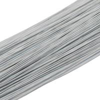 Оптовая продажа бумаги покрыты провода 0.45 мм/0.0177 дюймовый диаметр железной проволоки для DIY нейлоновый чулок цветок делает