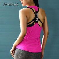 NRAHBSQT Yoga Fitness Tank Top manches Gym Débardeur Femme Chemise sport shirt de course Débardeurs Gilet de remise en forme couleur de sucrerie FZ070