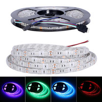 High Birght 5M 5050 3528 5630 2835 3014 SMD Tiras Led Light Warm Pure White Red Green RGB Flexible 5M Rollo 300 Leds 12V cinta exterior