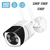 Wifi IP Camera Two-way Audio Onvif 2.0 MP 3.0 MP 5.0 MP HD Outdoor Watervance 20M IR Night Vision WIRELESS CAMERA iCSee