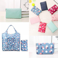 Printing Foldable Shopping Bag Tote Folding Pouch Handbags C...