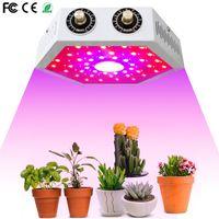 COB LED cresce a luz 1000W Full Spectrum Duplo Chave ajustável crescente Luminárias de Efeito Estufa interior plantas Tenda crescer Led Light