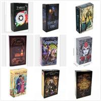 2020 17 أنماط Tarots الساحرة أساطير سميث Shadowscapes البرية بريزما التارو سطح المكتب مجلس بطاقات لعبة مع صندوق ملون النسخة L455