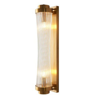 Moderne LED Crystal Wall Creative Light Gold Design Décoration d'appareils d'éclairage Chambre Hall d'entrée Applique Sconce