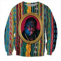 2020 новейшая мода унисекс толстовка пресловутый B. I. G смешной 3D принт Crewneck толстовка мужская женская стиль пуловеры WY05