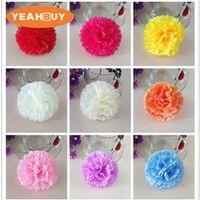 9 cm 11 cores atacado 300 pcs cabeças de flores de cravo de seda artificial para o dia das mães diy buquê de parede flor jóias descobertas headware