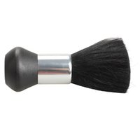 Barber Neck Chiffon brosse douce coiffure coupe de cheveux Salon Styliste Noir Blaireau de haute qualité cou Brosse Duster