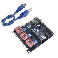 Freeshipping USB CNC 3 Achsen Schrittmotor USB Treiberplatine Controller Laserplatine für GRBL