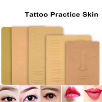 Prática de Tatuagem de silicone Pele 3D Pele Artificial Macia Para O Lábio Facial Lábio Maquiagem Permanente Tatuagem Abastecimento Iniciantes