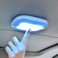 Beyaz LED 5V Araç Araç Kubbe Çatı Tavan İç Okuma Trunk Işık Lambası Ampul