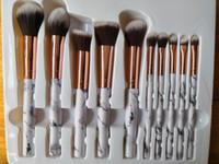 2019 Hot 10pcs / Set Elf Maquillage Brosse Set Face Cream Power Foundation Brosses Multipurpose Beauty Tool Cosmétique Brushes Set avec boîte