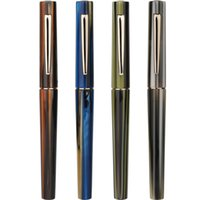 Moonman N3 Acrylic Stripes Fountain Pen Iridium 0. 38- 0. 5mm N...