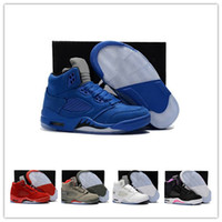 Kids Children 5 Basketball Shoes for Boys Girls OG Black 5s ...