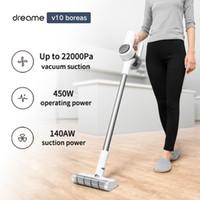 Dreame v10 Boreas handheld aspirador sem fio 22kpa portátil ciclone sem fio filtro de ciclone tapete coletor de poeira varrer para xiaomi