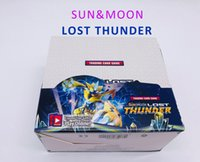 324pcs set Sun&Moon LOST THUNDER Card Game Anime Trading Car...