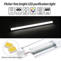 LED داخلي ضوء الشريط الأبيض المصابيح 220 فولت الثريا الإضاءة الولايات المتحدة الأمريكية في stok الحديثة 90 سنتيمتر أضواء السقف مصباح تنقية