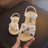 Fashion Girls' Princess Shoes 2020 New Open Toe Primary...