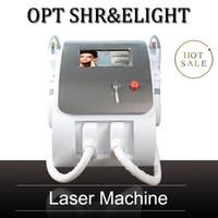 2020 اختيار المحمولة الشعيرات SHR إزالة الشعر بالليزر IPL تجديد الجلد آلة متعددة الوظائف IPL جهاز الوجه