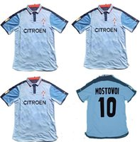 2002 2003 2004 RC Celta de Vigo de fútbol retro Mostovoi Sylvinho caseros camisas jerseys 02 03 04 fútbol