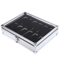 Professional 12 Grid Slots Jewelry Watches Display Storage S...