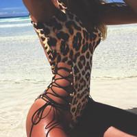 Kadın Tulumlar Tulum Dantel Leopar Bodysuit Kadınlar Için Seksi Bodycon Sıska Vücut Takım Askı Kolsuz Tulum Baskılı Romper