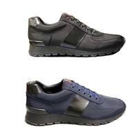 Die Trainer Männer Runners Match Race Stoff Turnschuhe Low Top-Designer-Schuhe LUXURY Sneaker triple zurück beiläufige Schuh-klassischen Stil mit Box