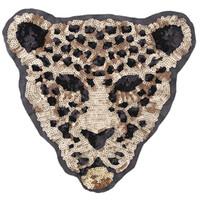 의류 액세서리 장식 새로운 만화 큰 동물 장식 조각 표범 호랑이 자수 천으로 패치 바느질