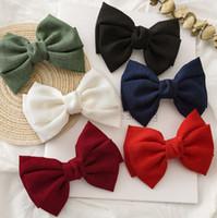 소녀의 활 머리카락 부티크 헤어 액세서리 키즈 두 배의 넥타이 공주의 머리 핀의 여섯 어린이 생일 파티 bowknot의 barrettes F826