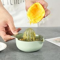 Espremedor de citrino Manual Para Orange Lemon Fruit Squeezer 100% Suco Original Criança Vida Saudável Potável Juicer Máquina