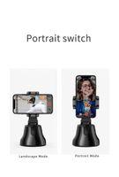 Rotação de 360 ° Face tracking inteligente AI Gimbal pessoais Robot 360 ° na horizontal baterias Cameraman seguimento não incluem