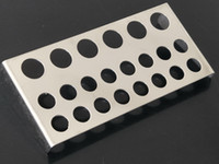 Stor tatuering Cup Cap Bläckstativhållare Rostfritt stål för Tattoo Bläckkoppar