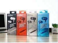 I EAR-trådlöst hörlurar 3.5mm Stereo Bass hörlurar In-Ear Headset Musik Earbud Tråd med MIC Volymkontroll för mobiltelefon MP3 MP4