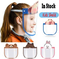 2020 New In Stock Kids Face Sheild Mask Cartoon Designed 4 C...