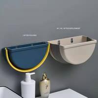 주방 쓰레기는 벽에 장착 할 수 있습니다 파편 버킷 가정용 매달려 휴지통 캐비닛 문 매달려 유형을 접는