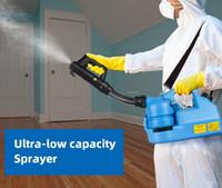 EU Stock 220V 7L elétrica Fria Fogger Inseticida Atomizador Ultra Baixa Capacidade Desinfecção pulverizador Mosquito assassino ULV Fria nebulizador máquina