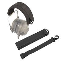 Táctica auricular de la cubierta modular avanzado Headset cubierta Molle diadema para el general táctica orejeras Caza Accesorios