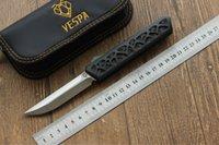 Coltello pieghevole VESPA di alta qualità a stella scura: M390 (raso) Impugnatura: 7075 alluminio + CF, coltelli da sopravvivenza per campeggio all'aperto Strumenti EDC